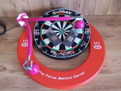 Luxe Darts set DBV-LEGS Roze